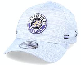 Baltimore Ravens NFL 20 On Field Road 39Thirty Grey Flexfit - New Era