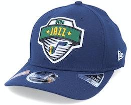 Utah Jazz NBA 20 Tip Off 9Fifty Navy Adjustable - New Era