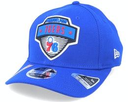 Philadelphia 76ers NBA 20 Tip Off 9Fifty Blue Adjustable - New Era
