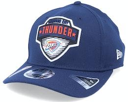 Oklahoma City Thunder NBA 20 Tip Off 9Fifty Navy Adjustable - New Era