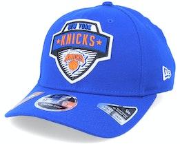 New York Knicks NBA 20 Tip Off 9Fifty Blue Adjustable - New Era