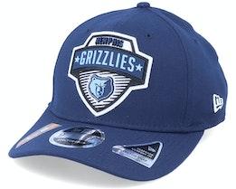 Memphis Grizzlies NBA 20 Tip Off 9Fifty Navy Adjustable - New Era