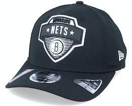 Brooklyn Nets NBA 20 Tip Off 9Fifty Black Adjustable - New Era