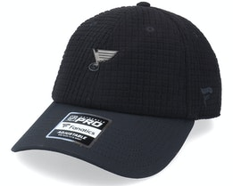 St. Louis Blues Black Ice Black Dad Cap - Fanatics