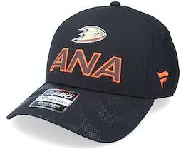 Anaheim Ducks Locker Room Black Adjustable - Fanatics