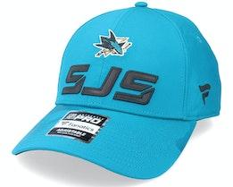 San Jose Sharks Locker Room Active Blue Adjustable - Fanatics