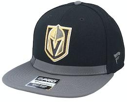 Vegas Golden Knights Locker Room Black Snapback - Fanatics