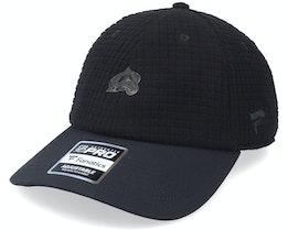 Colorado Avalanche Black Ice Black Dad Cap - Fanatics