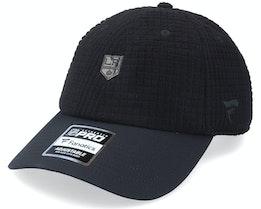 Los Angeles Kings Black Ice Black Dad Cap - Fanatics