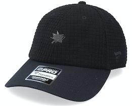San Jose Sharks Black Ice Black Dad Cap - Fanatics