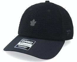 Toronto Maple Leafs Black Ice Black Dad Cap - Fanatics