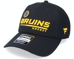 Boston Bruins Locker Room Black Dad Cap - Fanatics