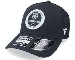 Los Angeles Kings Authentic Pro Training Flex Black Flexfit - Fanatics