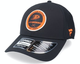Anaheim Ducks Authentic Pro Training Flex Black Flexfit - Fanatics
