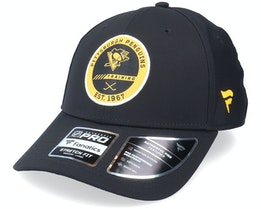 Pittsburgh Penguins Authentic Pro Training Flex Black Flexfit - Fanatics