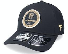 Vegas Golden Knights Authentic Pro Training Flex Black Flexfit - Fanatics