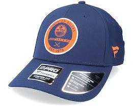 Edmonton Oilers Authentic Pro Training Flex Navy Flexfit - Fanatics