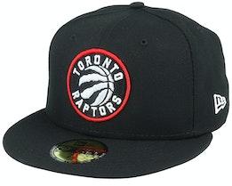 Hatstore Exclusive Toronto Raptors 59Fifty Black Fitted - New Era