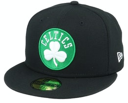 Hatstore Exclusive Boston Celtics 59Fifty Black Fitted - New Era