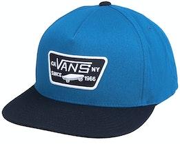M Core Accessories Moroccan Blue/Black Snapback - Vans