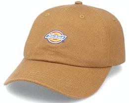 6-Panel Logo Cap Brown Duck Dad Cap - Dickies