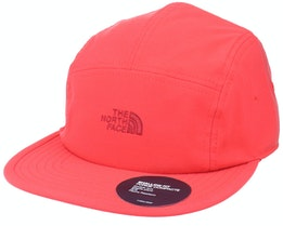Marina Camp Hat Red 5-Panel - The North Face