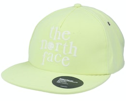 Vannagon Ballcap Pale Lime Yellow Fitted - The North Face