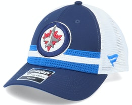 Winnipeg Jets NHL Draft Home Structured Blue/White Trucker - Fanatics