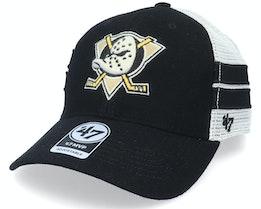 Anaheim Ducks Wilis Mvp Black/White Trucker - 47 Brand