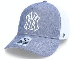New York Yankees Emery Mvp Dt Navy/White Trucker - 47 Brand