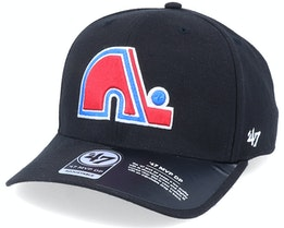 Hatstore Exclusive x Quebec Nordiques MVP Cold Zone Vintage Black Adjustable - 47 Brand