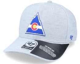 Colorado Rockies Heather Mvp Dp Charcoal Adjustable - 47 Brand