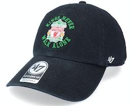 Liverpool FC Arch Black Dad Cap - 47 Brand