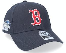 Boston Red Sox Sure Shot Mvp Navy Adjustable - 47 Brand