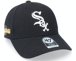 Chicago White Sox Sure Shot Mvp Black Adjustable - 47 Brand