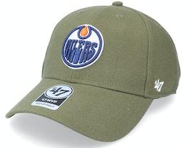 Edmonton Oilers Mvp Sandalwood Adjustable - 47 Brand