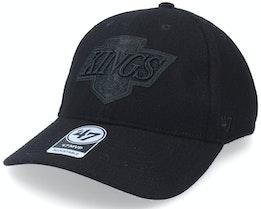 Los Angeles Kings Melton Snap Mvp Black Adjustable - 47 Brand
