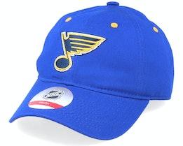 Kids St. Louis Blues Team Slouch Blue Dad Cap - Outerstuff