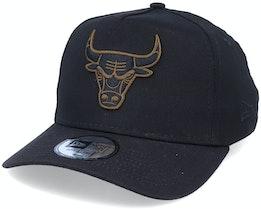 Hatstore Exclusive x Chicago Bulls Bronze Details 940 A-frame - New Era