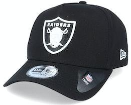 Hatstore Exclusive x Las Vegas Raiders Black Inverted A-frame