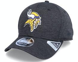 Minnesota Vikings Total Shadow Tech 9Fifty Black Adjustable - New Era