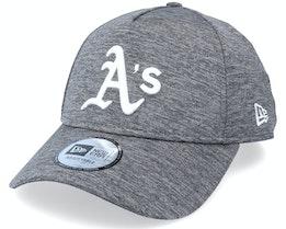 Oakland Athletics Tonal Team Heather Grey Adjustable - New Era