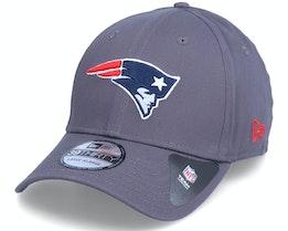 New England Patriots NFL Team 39Thirty Dark Grey Flexfit - New Era