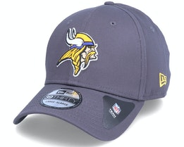 Minnesota Vikings NFL Team 39Thirty Dark Grey Flexfit - New Era