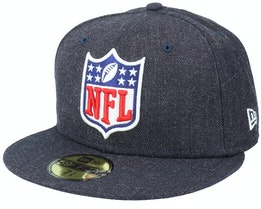 Heather 59Fifty Navy Fitted - New Era