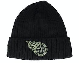 Tennessee Titans Salute To Service NFL 20 Knit Black Cuff - New Era