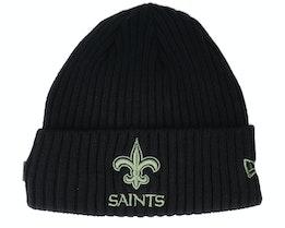 New Orleans Saints Salute To Service NFL 20 Knit Black Cuff - New Era