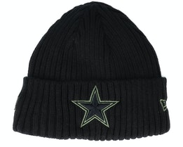 Dallas Cowboys Salute To Service NFL 20 Knit Black Cuff - New Era