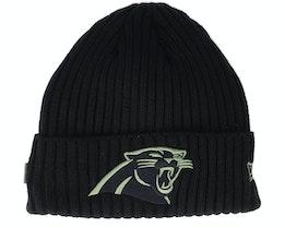 Carolina Panthers Salute To Service NFL 20 Knit Black Cuff - New Era