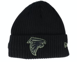 Atlanta Falcons Salute To Service NFL 20 Knit Black Cuff - New Era